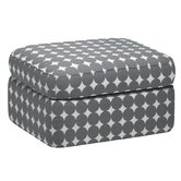 Rounded Cotton Ottoman