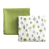 Owls Multi Swaddle Blanket 2-Pack