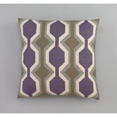 Chelsea Stripe Amethyst Decorative Pillow
