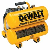 Hand Carry-Electric Compressors - air compressor 2 hp 4 gal hand carry twin tank