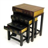 Scholar's 3 Piece Nesting Tables
