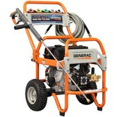 Gas Powered Pressure Washer 4000 psi, 4 gpm with five spray nozzles and 50-foot heavy duty hose
