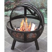 Ball of Fire Steel Bowl Fire Pit
