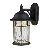 Lapuente  Outdoor Sconce in Matte Black