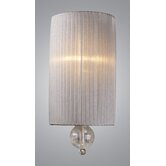 Alexis  Wall Sconce in Antique Silver