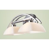 Arches Vanity Light in Polished Chrome