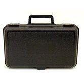 Blow Molded Case in Black: 8 x 13.5 x 4.38