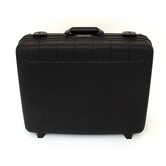 Deluxe Polypropylene Tool Case in Black: 15.5 x 18.25 x 7.25