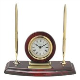 Ambassador Clock with Two Pens