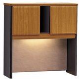 Series A 36.5&quot; H x 35.63&quot; W Desk Hutch