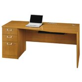Quantum Series - 72&quot; Left Hand Desk with Pedestal