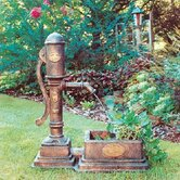 Classical Vintage Pump Planter Fountain