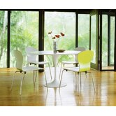 Saarinen 2 Piece Round Dining Table with Sprite Side Chairs