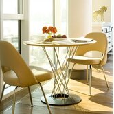 Noguchi Cyclone 3 Piece Dining Table with Saarinen Executive Chairs