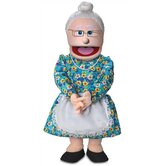 30&quot; Granny Professional Puppet with Removable Legs