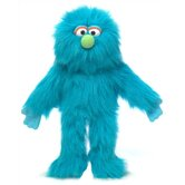 14&quot; Blue Monster Glove Puppet