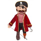 "25"" Pirate Full Body Puppet"