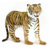 "50"" Large Bengal Standing Tiger Stuffed Animal"