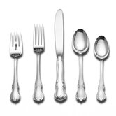 French Provincial 5 Piece Flatware Set