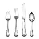 French Provincial 4 Piece Flatware Set with Old Style Blade