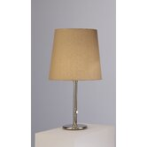 Buster  Table Lamp with Taupe Claireborne Shade