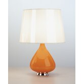 Jonathan Adler Capri Small Table Lamp in Orange