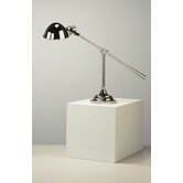 Alvin Boom Table Lamp in Polished Nickel
