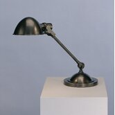 Alvin Desk Lamp in Deep Patina Bronze