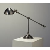 Alvin Boom Table Lamp in Deep Patina Bronze
