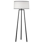 Shinto  Tripod Floor Lamp in Wrought Iron