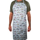 Bright Bikes Adult Apron