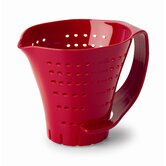 Three Cup Measuring Colander in Red