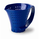 Three Cup Measuring Colander in Blue