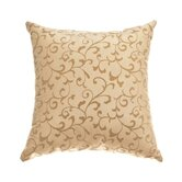 Sava 18&quot; Pillow in Champagne