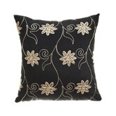 "Sutton 18"" Pillow in Black"