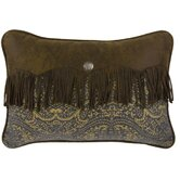 Bella Vista Chenille Envelope Pillow in Blue