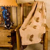 Pine Cones Reversible Throw