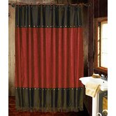 Cheyenne Shower Curtain in Red