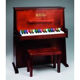 Day Care Durable Spinet Piano in Mahogany