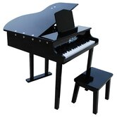 37 Key Concert Grand Piano in Black