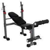 Narrow Weight Bench with Leg Developer