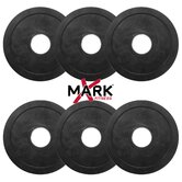 5 lb. Rubber Coated Olympic Plate Weights
