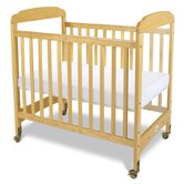 Serenity Safereach Fixed Side Clearview Compact Crib