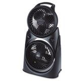 Twin Turbo, 2-In-1 Fan, High-Performance Fan