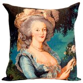 French Tapestry Cotton Marie Antoinette Pillow