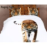 Dolce Mela Raging Tiger Duvet Cover Set