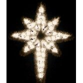 Garland Star of Bethlehem in Warm White