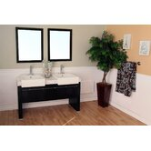 Essex 57.75&quot; Double Vanity Set
