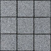 "Interlocking 11-3/4"" x 11-3/4"" Granite Tiles in Dark Gray"