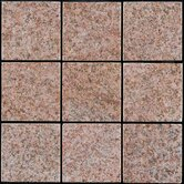 "Interlocking 11-3/4"" x 11-3/4"" Granite Tiles in Sand Beige"